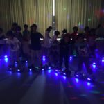 Hoverboard Experience Disco Group Neon Cool