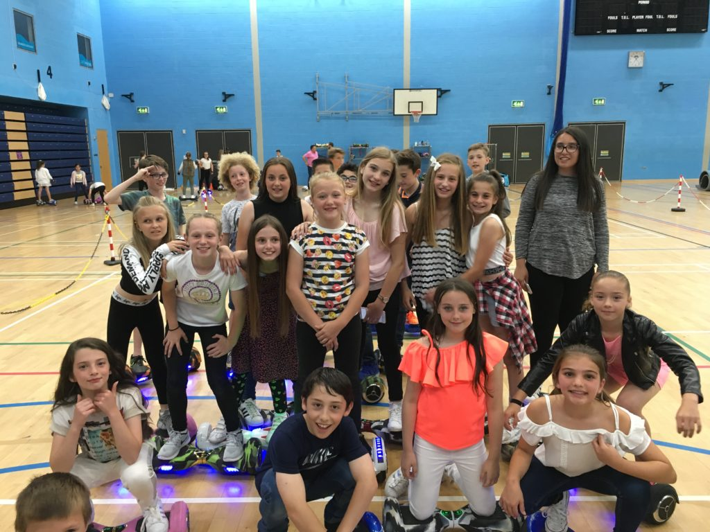 Hoverboard Experience Group Girls Party