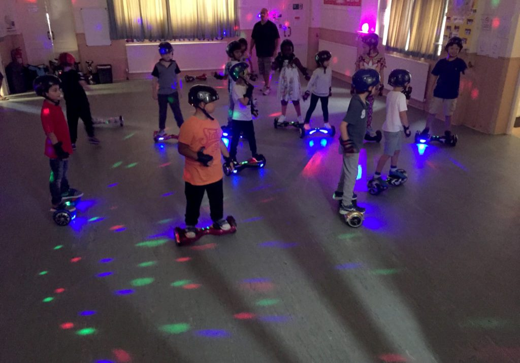 Hoverboard Experience Disco Neon Party