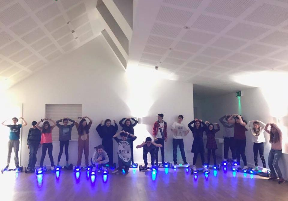 Hoverboard Experience Group Neon Venue